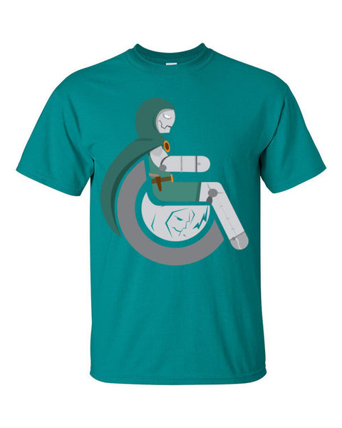 Men's Adaptive Doctor Doom T-Shirt