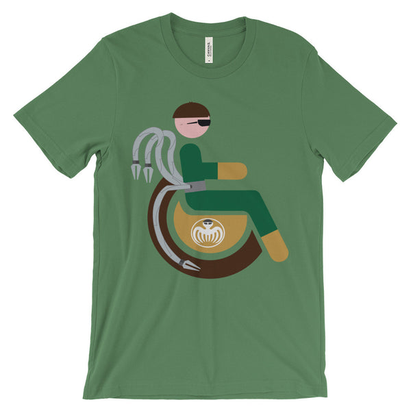 Adaptive Doctor Octopus Short Sleeve T-Shirt (3XL-4XL)