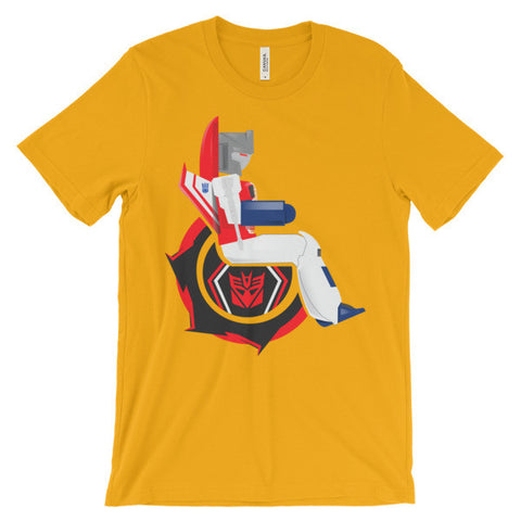 Adaptive Starscream Short Sleeve T-Shirt