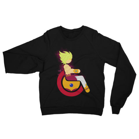 Adaptive Legendary Super Saiyan Broly Raglan Sweater