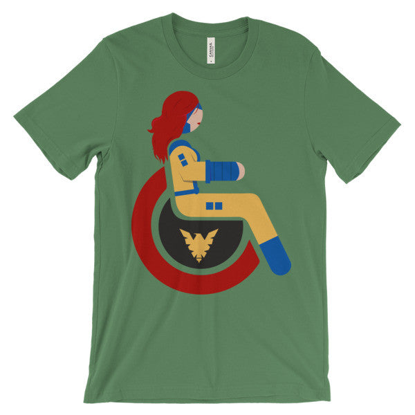 Adaptive Jean Grey Short Sleeve T-Shirt