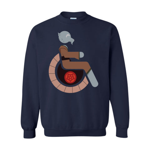 Men's Adaptive Splinter Crewneck Sweatshirt