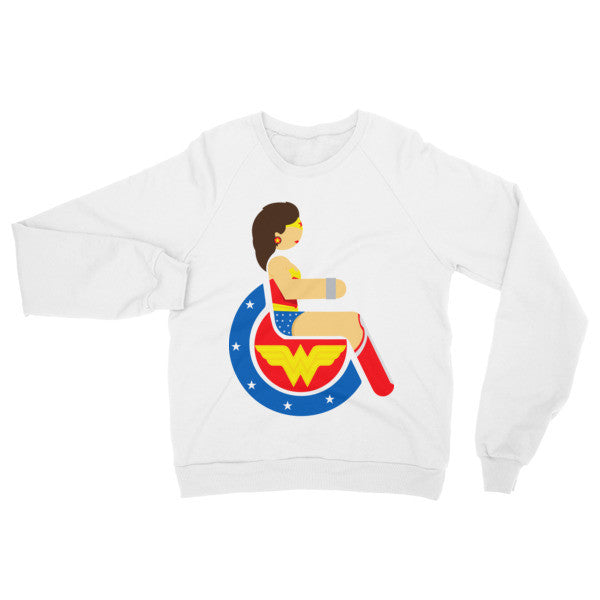 Adaptive Wonder Woman Raglan Sweater
