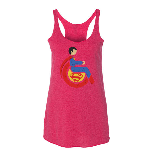 Women's Adaptive Superman Tank Top (XL)