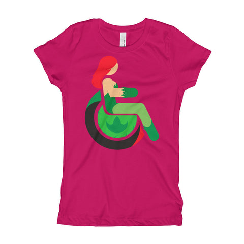 Girl's Youth Adaptive Poison Ivy T-Shirt (XS-XL)