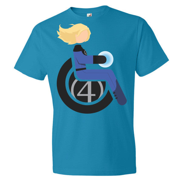 Men's Adaptive Invisible Woman Lightweight T-Shirt