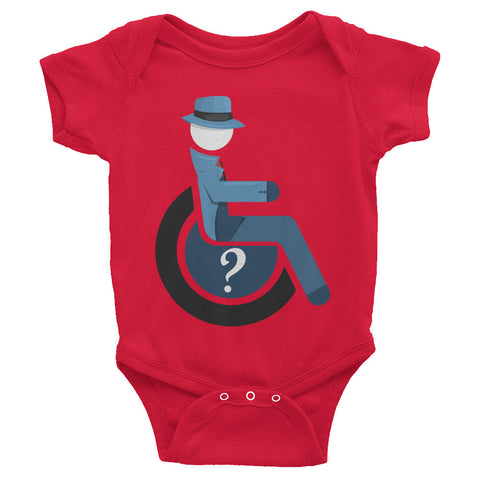 Adaptive Question Baby Onesie