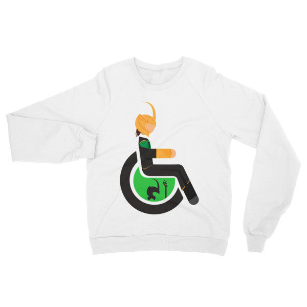 Adaptive Loki Raglan Sweater