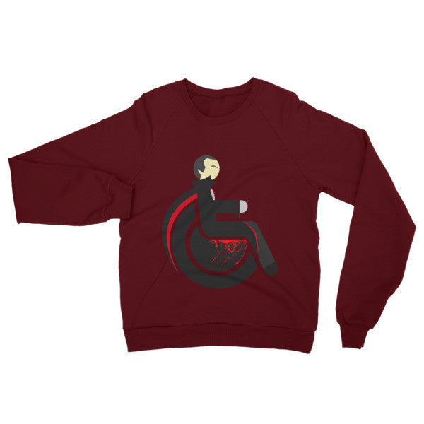 Adaptive Dracula Raglan Sweater