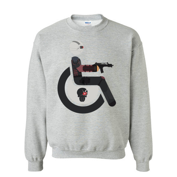 Men's Adaptive Deadshot Crewneck Sweatshirt