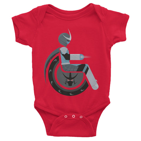 Adaptive Shredder Baby Onesie