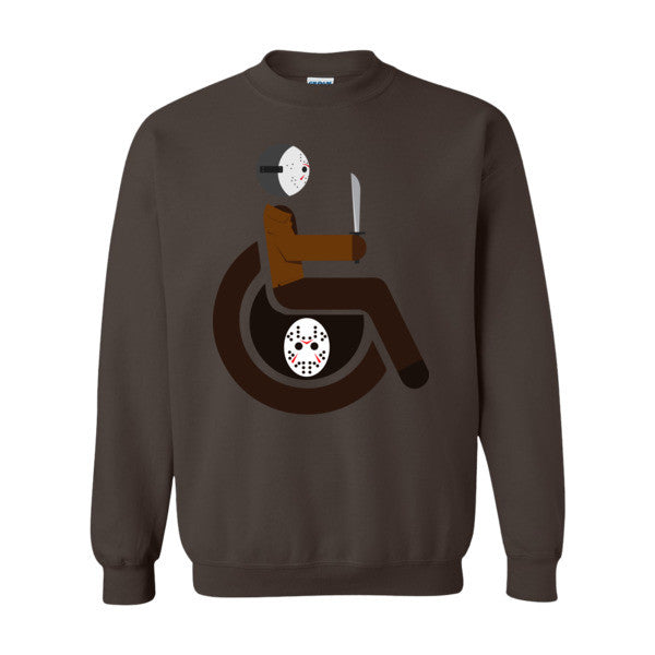 Men's Adaptive Jason Voorhees Crewneck Sweatshirt