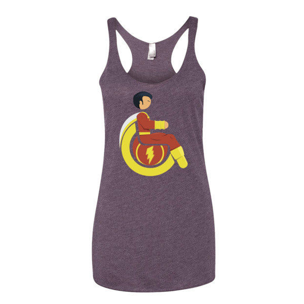 Women's Adaptive Mr. Marvel (Shazam) Tank Top (XL)