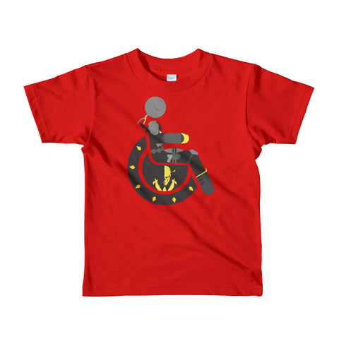 Kid's Adaptive Deathstroke T-Shirt (2yrs-6yrs)