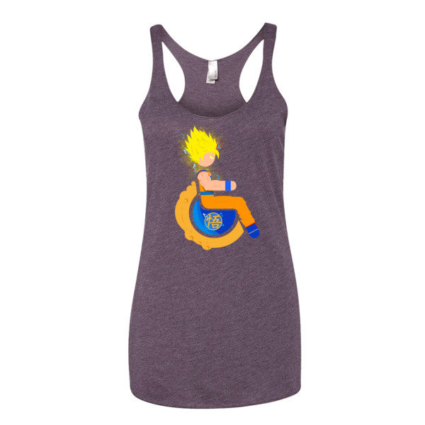 Women's Adaptive Super Saiyan 2 Goku Tank Top (XS-L)