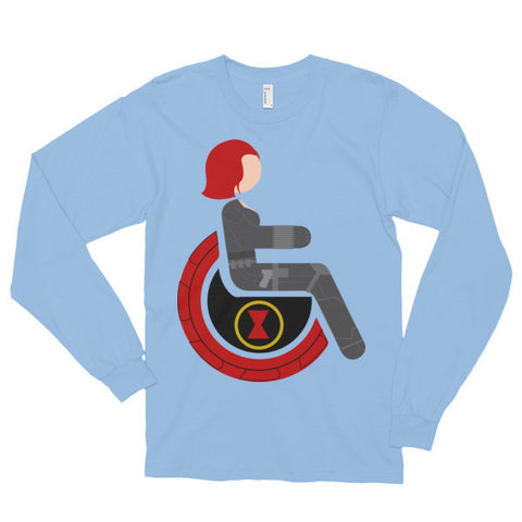 Adaptive Black Widow Long Sleeve