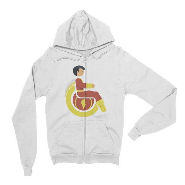 Adaptive Mr. Marvel (Shazam) Flex Zip Hoodie