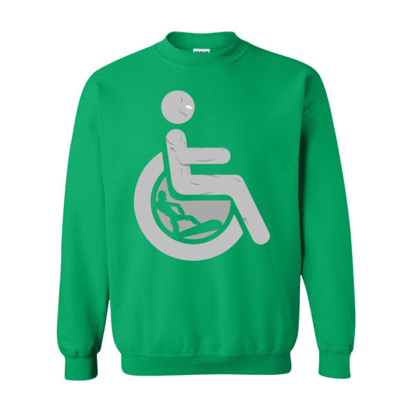 Men's Adaptive Silver Surfer Crewneck Sweatshirt