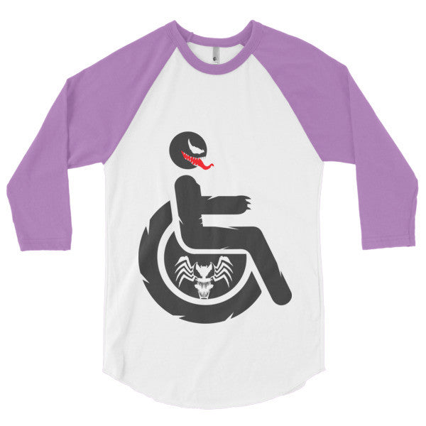 Men's Adaptive Venom 3/4 Sleeve Raglan Shirt