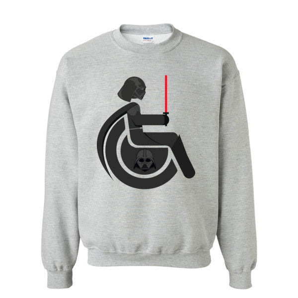 Men's Adaptive Darth Vader Crewneck Sweatshirt