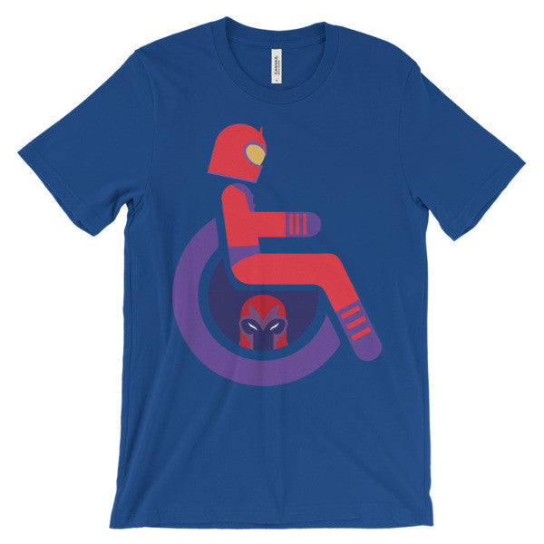 Adaptive Magneto Short Sleeve T-Shirt