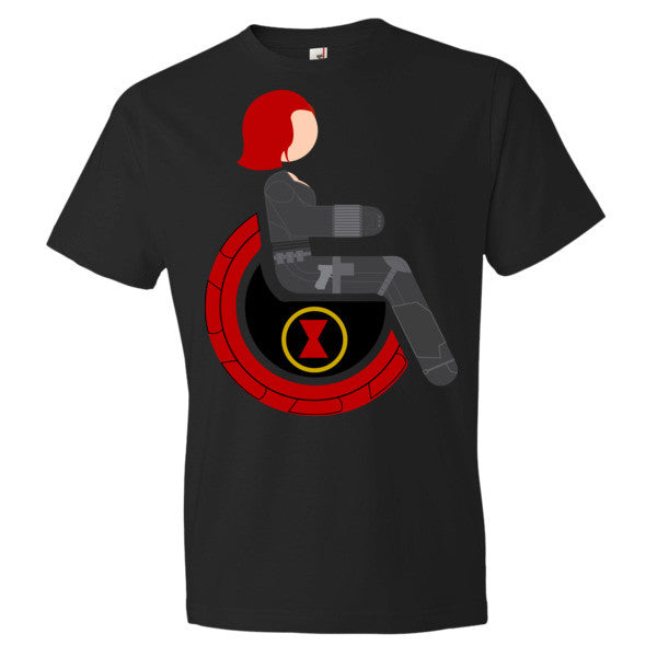 Men's Adaptive Black Widow Lightweight T-Shirt