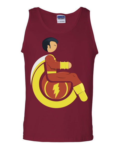 Men's Adaptive Mr. Marvel (Shazam) Tank Top