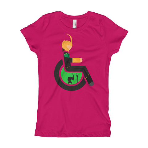 Girl's Youth Adaptive Loki T-Shirt (XS-XL)