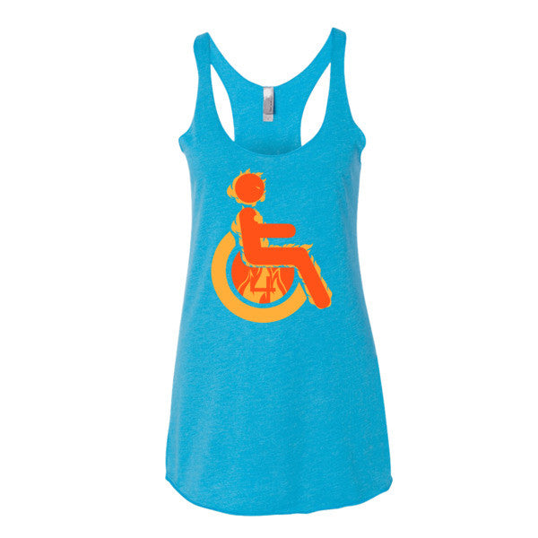 Women's Adaptive Human Torch Tank Top (XL)