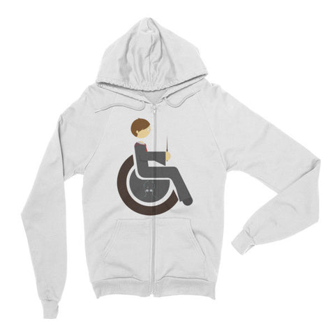 Adaptive Harry Potter Flex Zip Hoodie