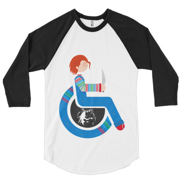 Men's Adaptive Chucky 3/4 Sleeve Raglan Shirt