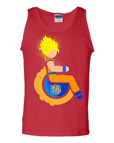 Men's Adaptive Super Saiyan 2 Goku Tank Top