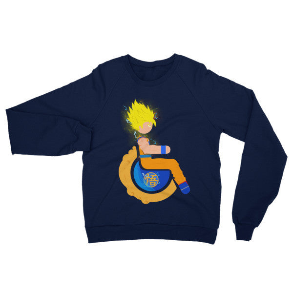 Adaptive Super Saiyan 2 Goku Raglan Sweater