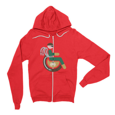 Adaptive Doctor Octopus Flex Zip Hoodie