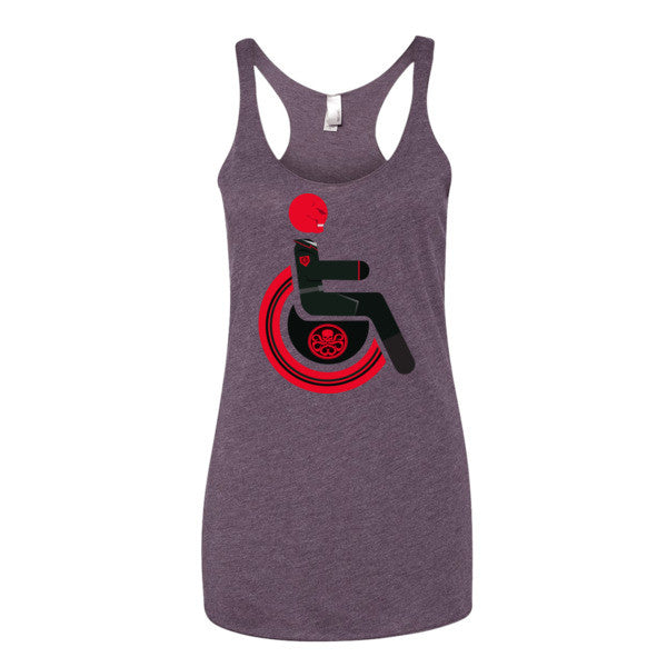 Women's Adaptive Red Skull Tank Top (XS-L)
