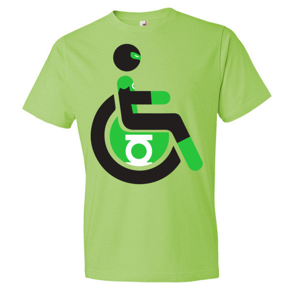 Men's Adaptive Green Lantern Lightweight T-Shirt