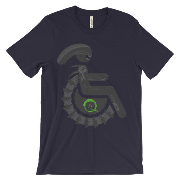 Adaptive Alien Xenomorph Drone Short Sleeve T-Shirt