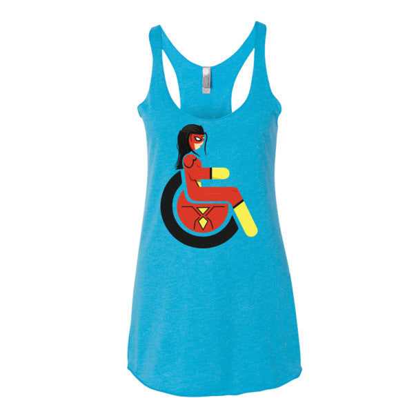 Women's Adaptive Spider-Woman Tank Top (XS-L)