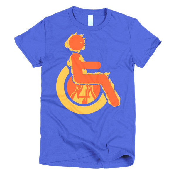 Women's Adaptive Human Torch T-Shirt (S-L)