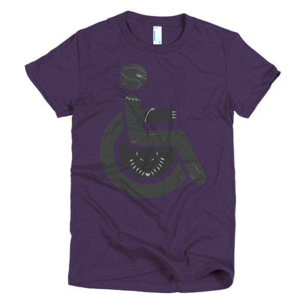 Women's Adaptive Black Panther T-Shirt (XL-2XL)