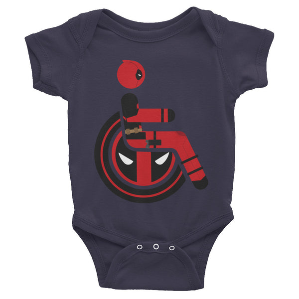 Adaptive Deadpool Baby Onesie