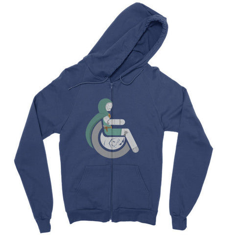 Men's Adaptive Doctor Doom Zip Hoodie