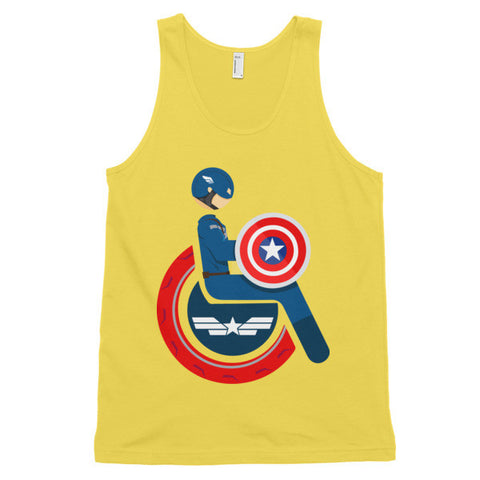 Adaptive Captain America Classic Tank Top