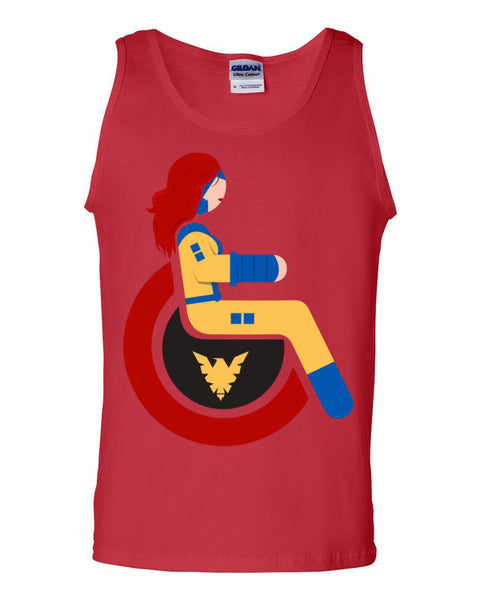 Men's Adaptive Jean Grey Tank Top