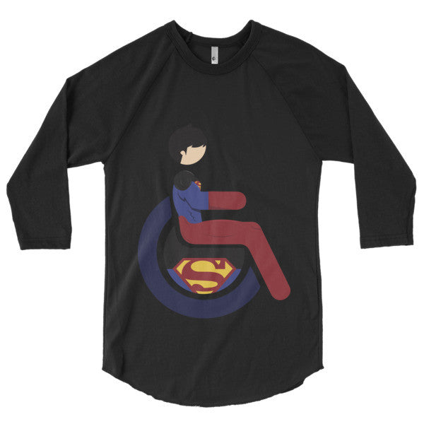 Men's Adaptive Superboy 3/4 Sleeve Raglan Shirt