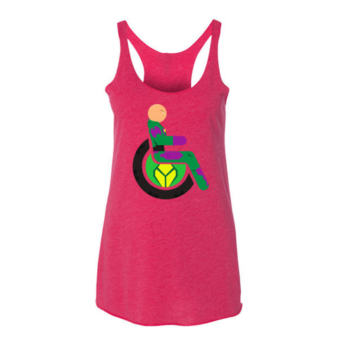 Women's Adaptive Lex Luthor Tank Top (XL)