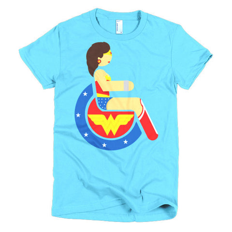 Women's Adaptive Wonder Woman T-Shirt (S-L)