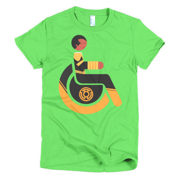 Women's Adaptive Sinestro T-Shirt (XL-2XL)