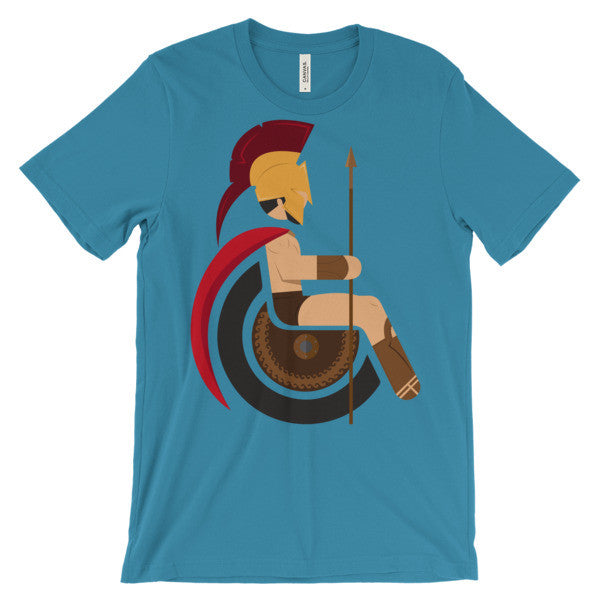 Adaptive King Leonidas Short Sleeve T-Shirt