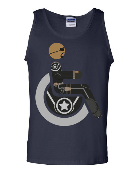 Men's Adaptive Nick Fury Tank Top